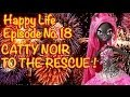 Monster High & Barbie Doll Videos: Catty Noir to the Rescue! MsPlayLA HAPPY LIFE Series Episode #18