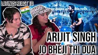 Latinos react to Arijit Singh - Dua LIVE in MTV India Tour 🎻😵🔥