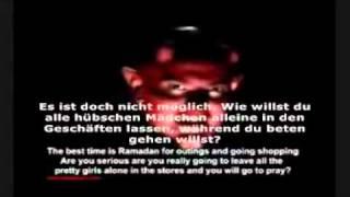 Teufel 9  Verabschiedung des Teufels an Ramadan