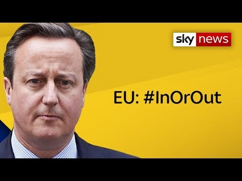 David Cameron - 'EU: In Or Out?'