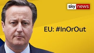 David Cameron - 'EU: In Or Out?'