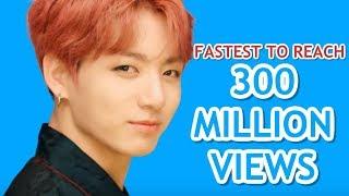 FASTEST K-POP GROUP MV TO REACH 300 MILLION VIEWS