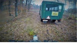 Wbiliśmy na polowanie   Uciekła im zwierzyna   Dzika przygoda   Skoki   MRF 140 RC   Loncin 125  