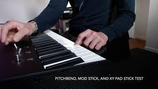 Studiologic SL88 Studio, Overview / unboxing, Midi keyboard controller