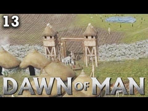 Steinmauern und Wachtürme | Dawn of Man [Deutsch] [#13]