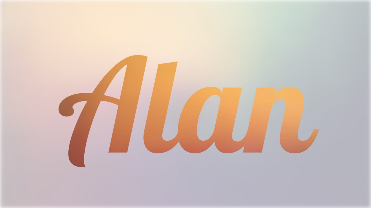 Q Significa Toad En Ingles Significado de Alan, n...