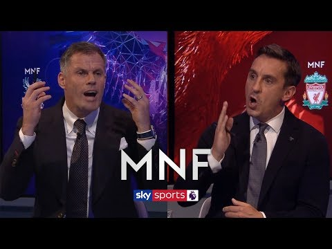 Jamie Carragher and Gary Neville have HEATED debate over Unai Emery's Arsenal | MNF