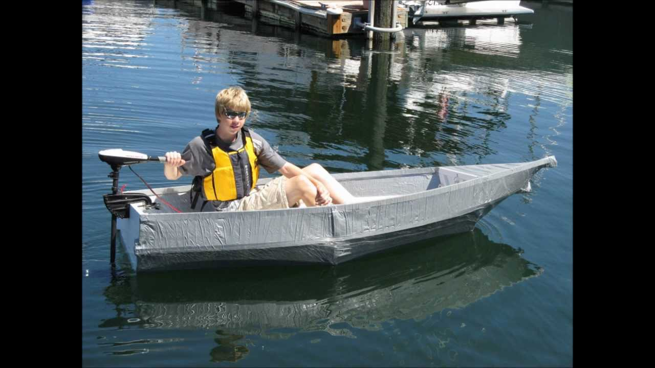 Jacks Duct Tape Boat