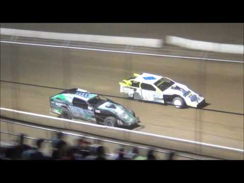 Muskingum County Speedway Modified Feature 6-17-2016