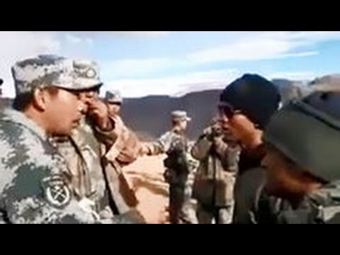 Scuffle Between Indian Army and Chinese Personnel