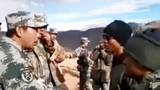 Scuffle Between Indian Army and Chinese Personnel thumbnail