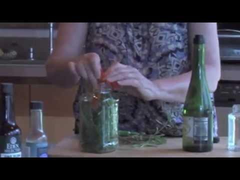 herb vinegars