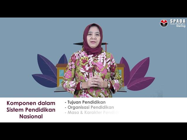 Sistem Pendidikan Nasional - Ani Hendriani, M.Pd.