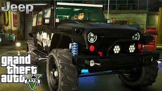 Jeep Wrangler Rubicon tuning - GTA V MSI GeForce GTX 1080 Ti GAMING X !!!