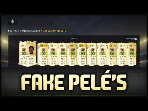WTF!!! EA PUTTING FAKE PELÉ'S ON THE MARKET!? - FIFA 15 ULTIMATE TEAM