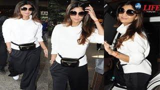 AIRPORT पर दिखा शिल्पा शेट्टी का COOL अंदाज...    Shilpa Shetty Spotted At Airport
