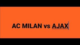 AC MILAN-AJAX (2-1) APUANE 2016