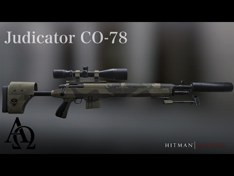Hitman: Sniper Rifle Showcase - The Judicator CO-78