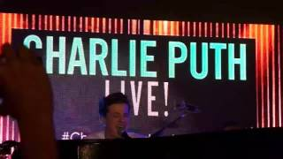 One Call Away - Charlie Puth Live in Manila