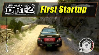Colin McRae DiRT 2 (PS3) - First Startup - Career #1 (720@60)