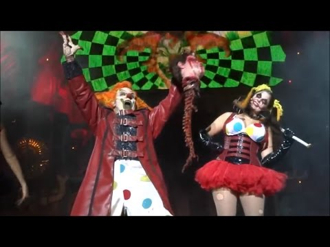 Front Row HHN25 Halloween Horror Nights Jack The Clown - The Carnage Returns 2015 Full Show