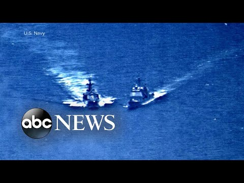 US: Russian Vessel's Near-miss With Navy Ship 'irresponsible'
