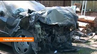 Алтайский край. Крупная авария на трассе М52