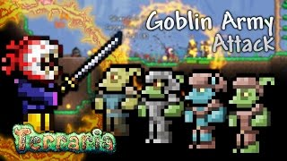 Terraria Let's Play - Goblin Army Attack [20]