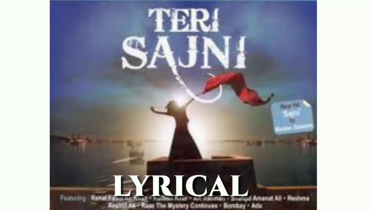 Download Teri Sajni Lyrics Ft Master Saleem _ Full Lyrical Song _ Lyricarz