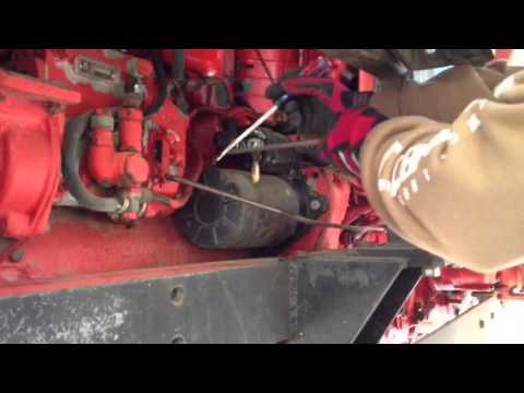 Cranking the Belarus tractor with screwdriver  YouTube
