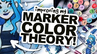 LET'S TRY: COOL COLOR THEORY WITH MARKERS!