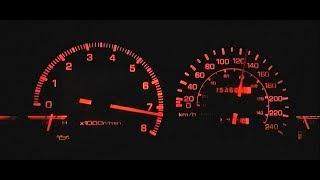 AE86 4AGE Redline 7500 RPM 16 Valve