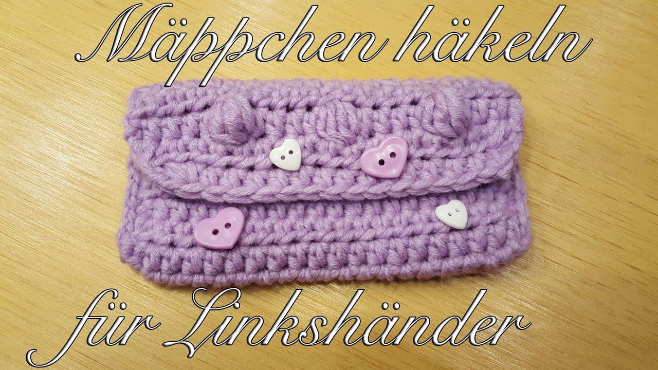 Mäppchen Häkeln Mit Myboshi Wolle Mini Tasche Häkeln Für