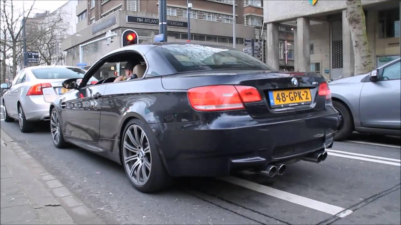 Bmw M3 E92 Cabriolet Revs Amp Acceleration Youtube