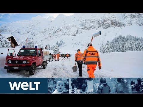 SCHNEECHAOS: Nur kurze Atempause für Menschen in den Alpen