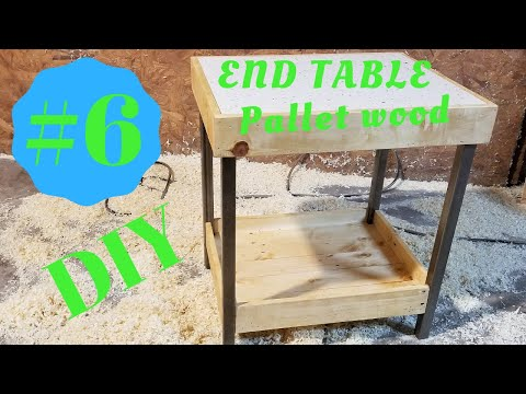 DIY-PALLET TABLE #6