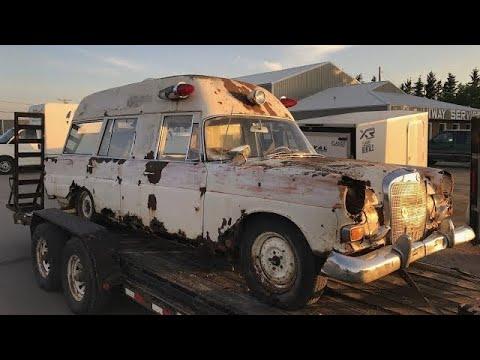 Junkyard Treasures! bringing home a rare Mercedes!