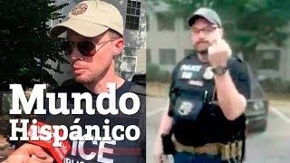 Mala conducta de agente de ICE es investigada por Agencia Federal