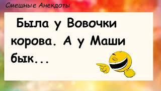 Анекдоты смешные до слёз Сборник Анекдотов про Вовочку Выпуск 64