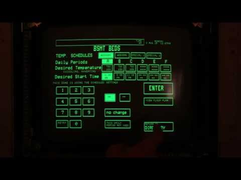 My house has a home automation system from 1985, complete with touchscreen. Video tour
