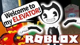 I AM BENDY!! (Roblox Bendy and the Scary Elevator!)