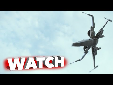 Star Wars: Episode VII: The Force Awakens: Exclusive X-wing Starfighter Battle