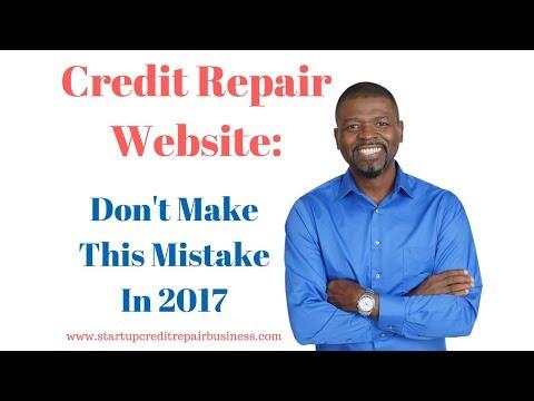 Credit Repair Website: Don't Make This Mistake In 2017: 1-888-959-1462