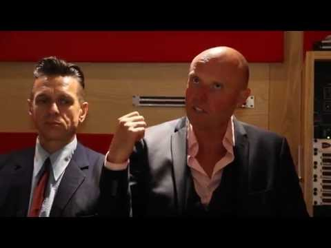 International Blue   Midge Ure and Stephen Emmer on bluffing