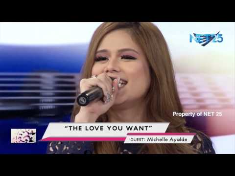 MICHELLE AYALDE - ANG HANAP KO (THE LOVE YOU WANT) NET25 LETTERS AND MUSIC
