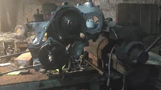 Piaggio Ape P501 Motor Zusammenbauen Teil 1