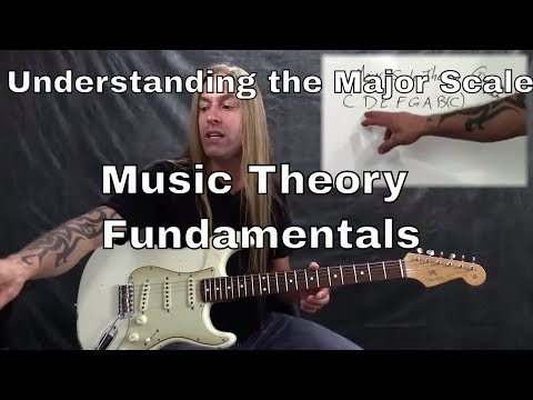 Steve Stine Guitar Lesson - Music Theory Fundamentals - Understanding the Major Diatonic Scale