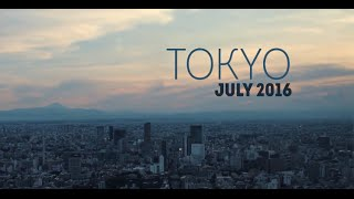 TOKYO CITY JAPAN 2016 - TRAVEL TIME LAPSE - HYPERLAPSE