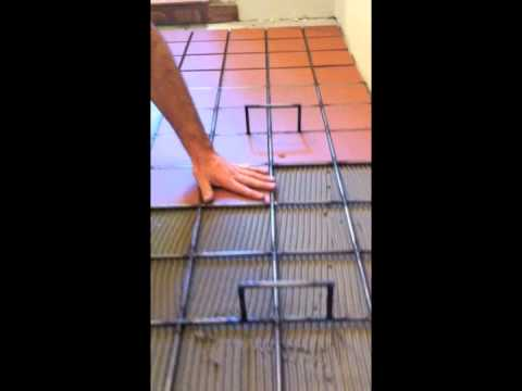 Rick S Rack Quarry Tiling Mudroom Youtube