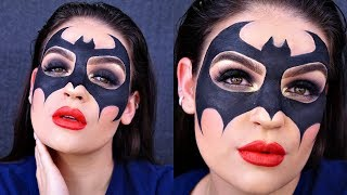 BATMAN MASK HALLOWEEN Makeup